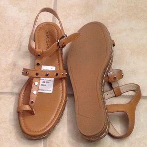 "Via spiga ""Lada"" platform sandals. Also in white"